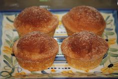Brandy's Baking: Cinnamon Sugar Donut Muffins