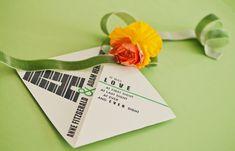 typography-inspired wedding. yes please. #invitation #typography