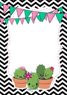 62 trendy ideas for birthday wallpaper backgrounds happy Cute Wallpapers, Wallpaper Backgrounds, Cactus Images, Boarder Designs, Birthday Wallpaper, Borders For Paper, Mexican Party, Party In A Box, Bullet Journal Ideas Pages