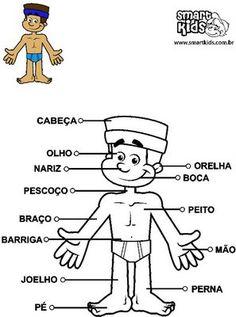 Ilustração, Maurício de Sousa, adaptada.  O Corpo Humano  Walter Nieble de Freitas  Toda criança estudiosa, Que deseja passar de ano, Deve sab…