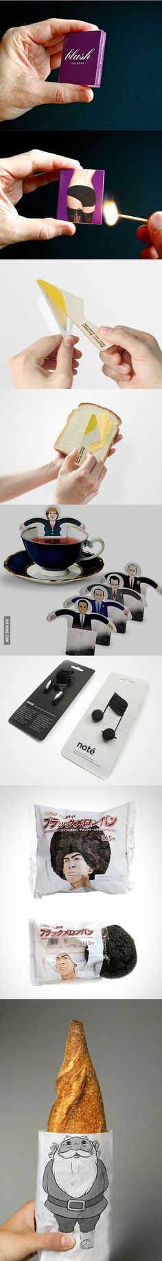 Clever packaging