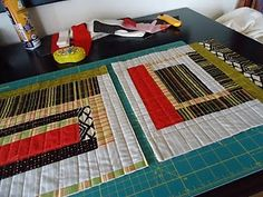 Quilt As You Go quilting!  Must try one of these in 2013!