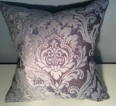 Christopher Edwards Rayon Velvet Front; Robert Allen Silk Back Custom Pillow in Collectibles | eBay