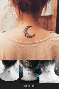 101+ Ideas De Tatuajes Para Mujeres Y Su Significado -  Pequeños tatuajes hermosos para las mujeres en el Cuello