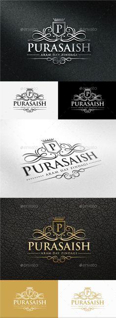 Purasaish Logo — Photoshop PSD #elegant #luxury • Available here → https://graphicriver.net/item/purasaish-logo/10696060?ref=pxcr