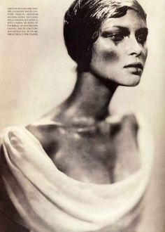 Vogue Italia, March 1997 Photographer : Paolo Roversi Model : Tasha Tilberg
