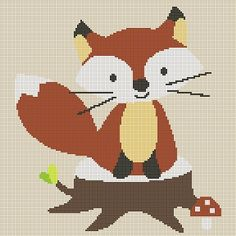 Tiny Tots-Woodland Fox