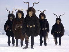 European Masquerades: Pagan Costumes Of The Light Continent's Wilder Men - Flashbak
