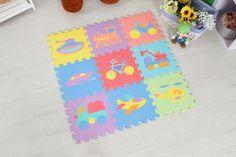 foam waterproof baby play puzzle mat floor star sport dance mat