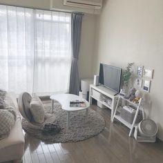 Korean Bedroom Ideas, Room Ideas Bedroom, Small Room Bedroom, Bedroom Decor, Minimalist Bedroom Small, Room Interior, Interior Design, Aesthetic Room Decor, Dream Rooms