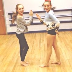 Dance Moms Kendall and Maddie