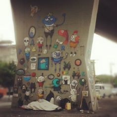 Sim, é do 1º Museu Aberto de Arte Urbana. Av. Cruzeiro do Sul. São Paulo - SP.