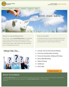 We have been able to exceed the expectations of our clients! Our team has done a wonderful job at developing this #website with all the necessary features & useful functionalities. It is a comprehensive corporate mailing and printing company serving businesses of all kinds throughout North America.