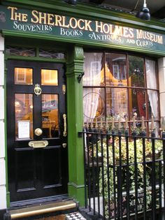 Sherlock Holmes Museum - 221 Baker Street    One of our stops while visiting London.