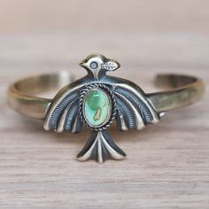 New in || Our Navajo Tribal Eagle and Turquoise Cuff || Shop it now in our 'Navajo' Collection || www.indieandharper.com