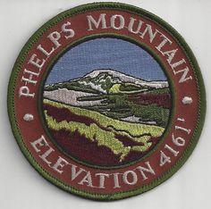 Souvenir Travel Patch Phelps Mountain Adirondack Mountain Peak New York   eBay