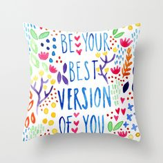 New throw cushions by Rachelle Panagarry. #artquote #quote #homedecor