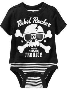 Six Bunnies Been Inside for 9 Months One Piece Romper Prisoner Baby Costume Punk
