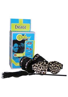 Buy Whip Smart Engage Bondage Kit Cheetah online cheap. SALE! $54.49