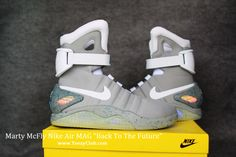 Nike Air MAG Back To The Future REAL 1:1 Marty McFly Nike Air MAG Shoes  Back To The Future Limited Edition REAL 1:1 Top Quality [Nike Air MAG Back  To The ...