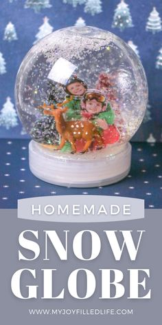Make a DIY photo snow globe this winter with your kids. Kids love seeing their picture inside their very own snow globe. These also make wonderful gifts for grandparents. #homemadegift #snowglobe #kidcraft Winter Activities For Kids, Winter Crafts For Kids, Summer Crafts, Diy Crafts For Kids, Fun Crafts, Amazing Crafts, Winter Kids, Picture Snow Globe, Photo Snow Globes