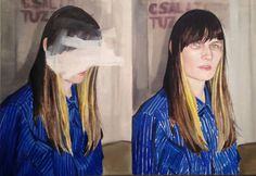 Double Liz, 2013, by Kelsey Henderson