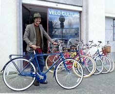 André and his brand new Bobbin Daytripper @ Velo Culture Porto