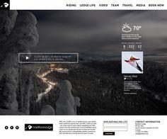 Baldface Web Design by Mike Martins, via Behance News Web Design, Ux Design, Web Design Inspiration, Design Ideas, Great Websites, Life Video, Interface Design, Mobile Responsive, Ui Ux