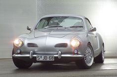 1972 Karmann Ghia. This is the single best Ghia I've ever seen. Perfect.