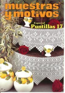 Muestras y Motivos Especial Puntillas No 17   Trims, centerpieces, laces, and…