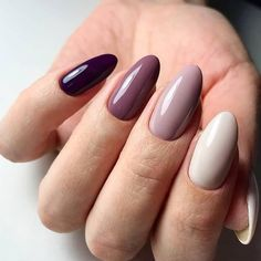 Colorful nails Multi-color nails Nails for spring dress Oval nails Red oval nails Spring nail art Spring oval nails Women day nails Nail Art Design Gallery, Best Nail Art Designs, Spring Nail Art, Spring Nails, Winter Nails, Uñas Fashion, Oval Nails, Oval Nail Art, Matte Nails