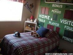 cute idea for boys room