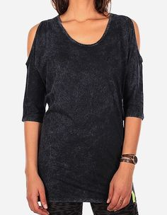 iriedaily - Vintage LS Dress black wash