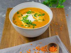 Cookbook: diet recipes under 400 calories Vegan Chickpea Curry, Vegan Lentil Soup, Lentil Stew, Diet Recipes, Vegetarian Recipes, Healthy Recipes, Healthy Food, Jamaican Curry Powder, Roasted Red Pepper Soup