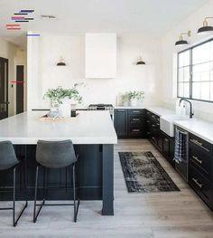 Minimal Kitchen Wonderlost Kitchen In 2018 Cocinas Küchen Design, Home Design, Interior Design Studio, Design Ideas, Black Kitchens, Cool Kitchens, Dream Kitchens, Home Decor Kitchen, New Kitchen