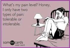 What's your pain level?