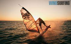 windsurfing, great shot