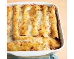 Lighter Chicken Enchiladas Recipe | Food Recipes - Yahoo Shine