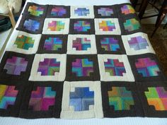 Gardiner Zick Zack : Hue shift afghan i knitted for a friend this was kit from