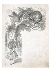 BM Alice and the Cheshire Cat - Sir John Tenniel