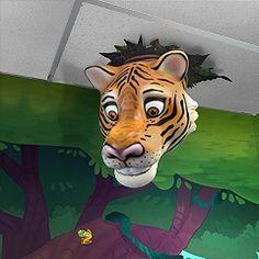 Tiger Smile Tile for Dentists by Imagination Dental Solutions