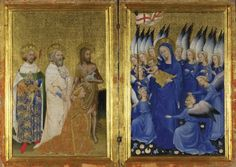 The Wilton Diptych. c.1397 (National Gallery, London).