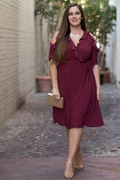 10f5bbda776e Shop plus size  60 dresses right now during our Cyber Warehouse