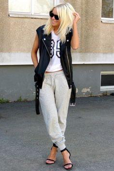 athletic-trend-street-style-track-pants-high-heels