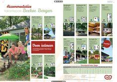 Pagina 40 uit brochure vakantieparken Libéma, vol met layar toepassingen om o.a. actuele last minutes te zien.