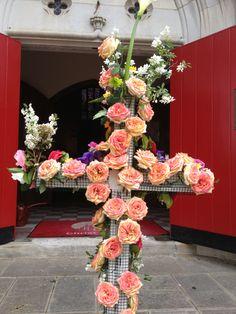 The flowered cross Easter 2013