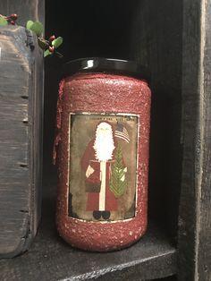 Herbal Star Candles Apple Krisp Kringle