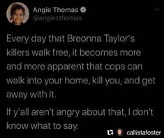 Are you angry yet?   #Repost @callistafoster  #blacklivesmatter #icantbreathe #racesoldiers #thisisamerica #racializedviolence #racism #defundthepolice #systematicracism #policebrutality #breonnataylor #justiceforbreonnataylor #endqualifiedimmunity