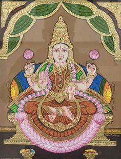 Mysore Painting, Madhubani Painting, Yashoda Krishna, Navratri Images, Baba Image, Lord Krishna Images, Goddess Lakshmi, Traditional Paintings, Karnataka