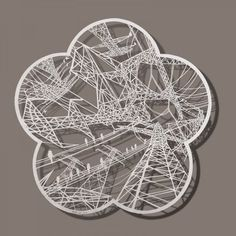 Paper cut art from Bovey Lee